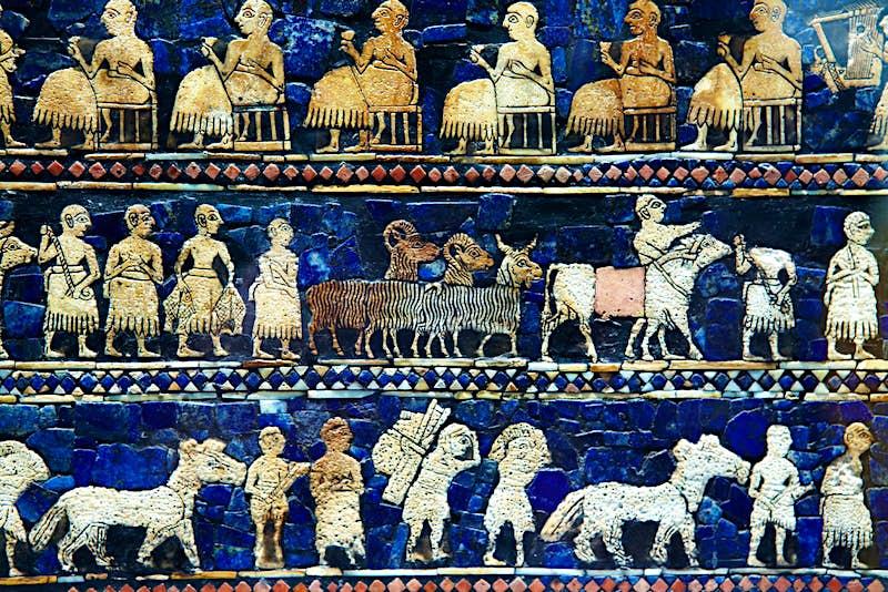 Arte antiga da Mesopotâmia no Museu Britânico © Matt Munro / Lonely Planet