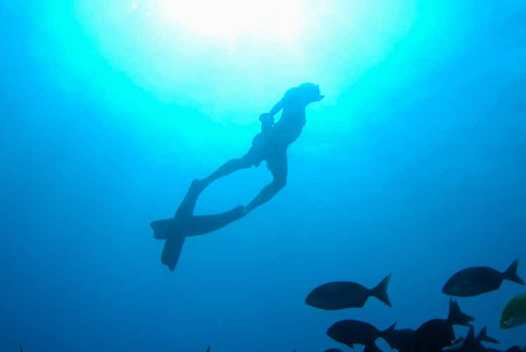 Learning to freedive in Indonesia