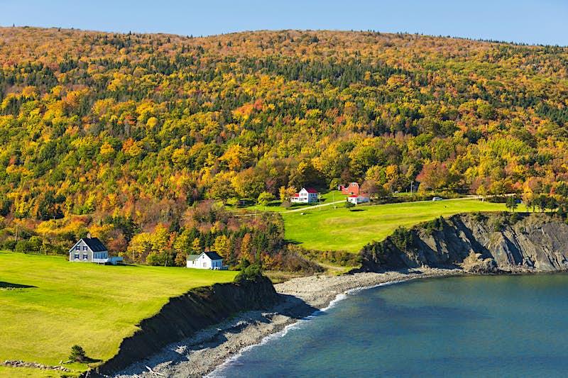 A tour around Cape Breton is an iconic Canadian road trip © Barrett & MacKay / All Canada Photos / Getty