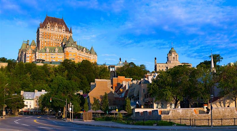 Chateau Frontenac in Quebec City © David Chapman / Design Pics / Getty