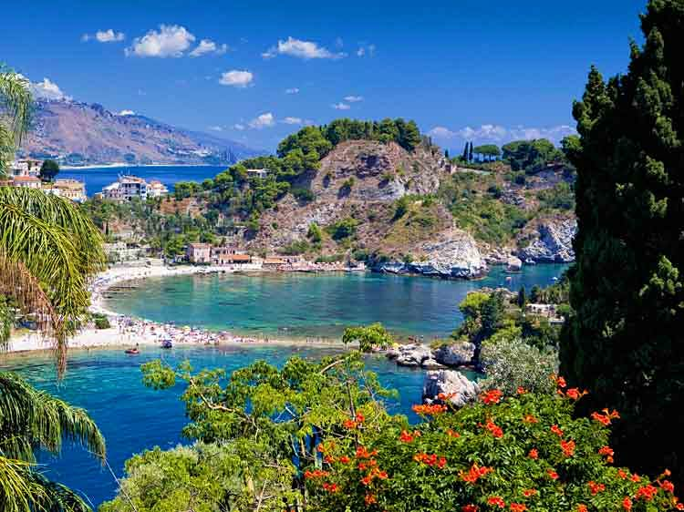Isola Bella, Taormina. Image by Slow Images / Photographer's Choice / Getty Images.
