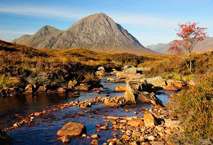 The rugged scenery of Glencoe in the Scottish Highlands. Image by Stephen Weaver Photography / Flickr Open / Getty Images.