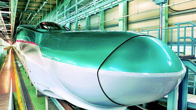 Celebrating 50 Years Of Japan S Shinkansen Bullet Train Lonely Planet