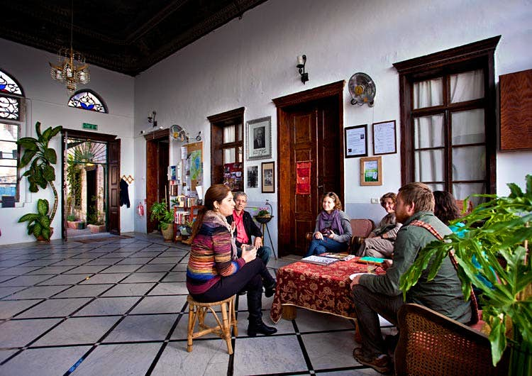 Experience Nazareth like a local at this inn with an incredible history. Image courtesy of Fauzi Azar Inn.