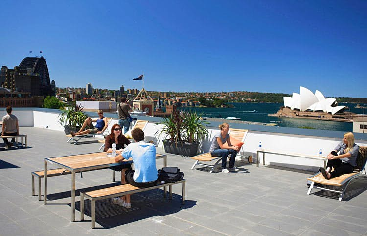 Enjoy five-star views from Sydney's best-situated hostel. Image courtesy of Sydney Harbour YHA.