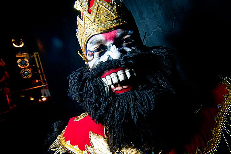 One of Hanuman's ape soldiers. Image by Stuart Butler / Lonely Planet.
