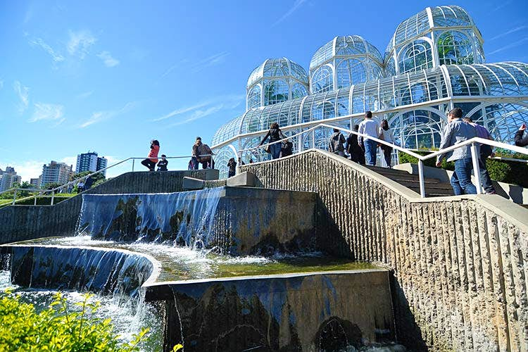 Curitiba's Jardim Botanico is a relaxing spot for visitors. Image by Leonardo Shinagawa. CC BY 2.0.