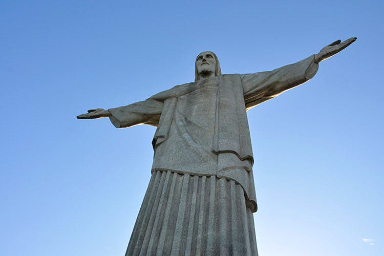 Christ the Redeemer looks out upon Rio de Janeiro. Image by Mike Vondran / CC BY 2.0.
