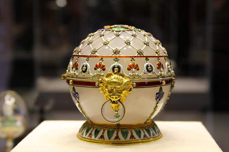 Absolutely Fabergé: Easter eggs with a difference