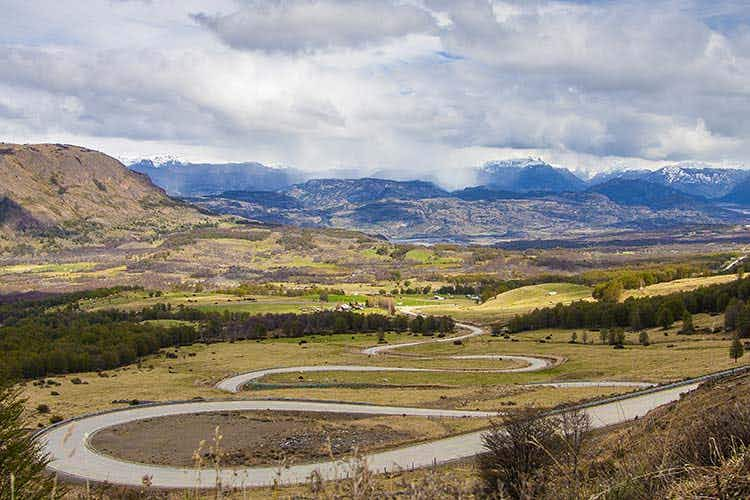 Driving through the wilderness on Chile's Carretera Austral