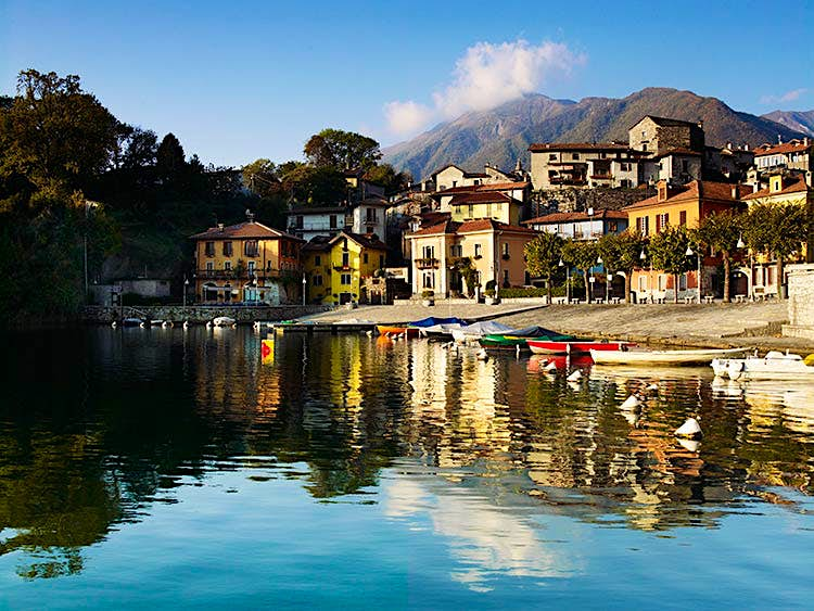 Mergozzo lies on the western shore of the lake – a ban on motorboats preserves the peace. Image by Lonely Planet Traveller