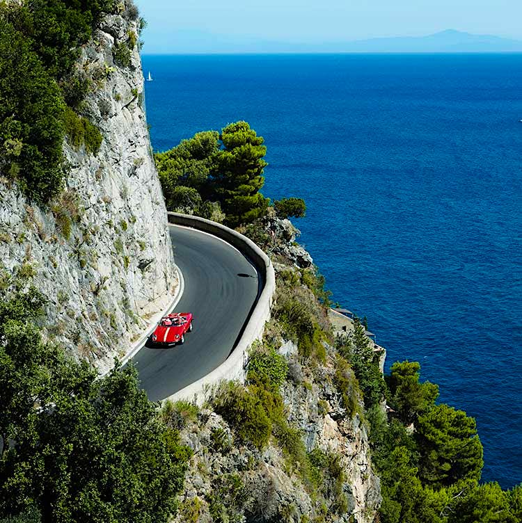 The Amalfi Coast has been a glamour hotspot ever since Jackie Onassis, Sophia Loren and Brigitte Bardot came here in the late '50s Image by Lonely Planet Traveller