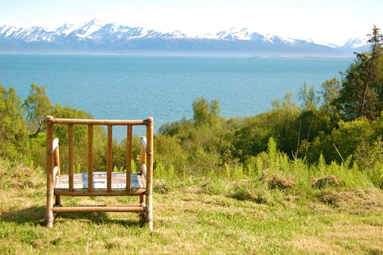 Sip with a view of Kachemak Bay, Alaska. Image by Brian / CC BY 2.0
