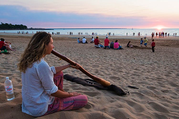 Why not gift your didgeridoo to a fellow traveller before the return flight? Image by Grant Dixon / Lonely Planet Images / Getty Images