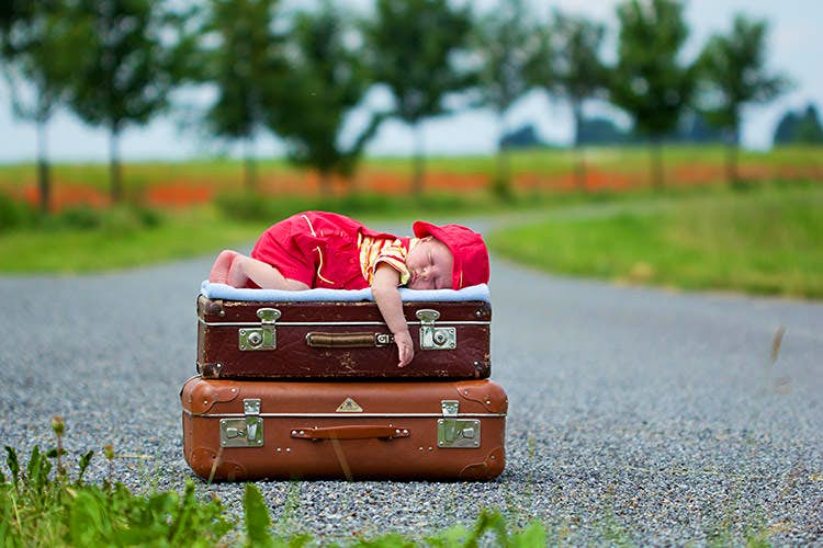 OK, occasionally - just occasionally - two suitcases come in handy...but as a rule? No. Image by Tatyana Tomsickova Photography / Moment / Getty Images