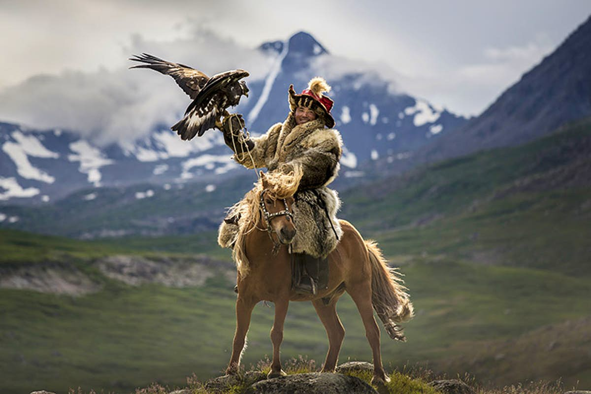 Mongolia's lost secrets in pictures: the golden eagle hunters