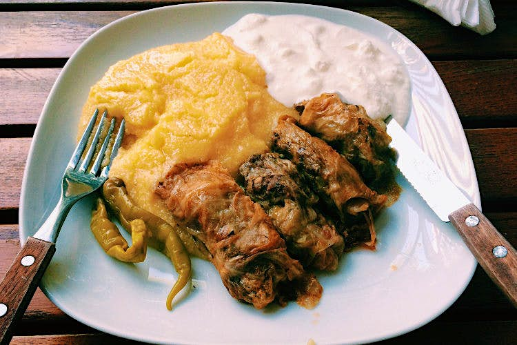 Stuffed cabbage rolls are Romania's de facto national dish. Image by Mark Baker / Lonely Planet