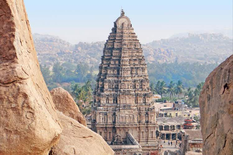 Towering temples of South India