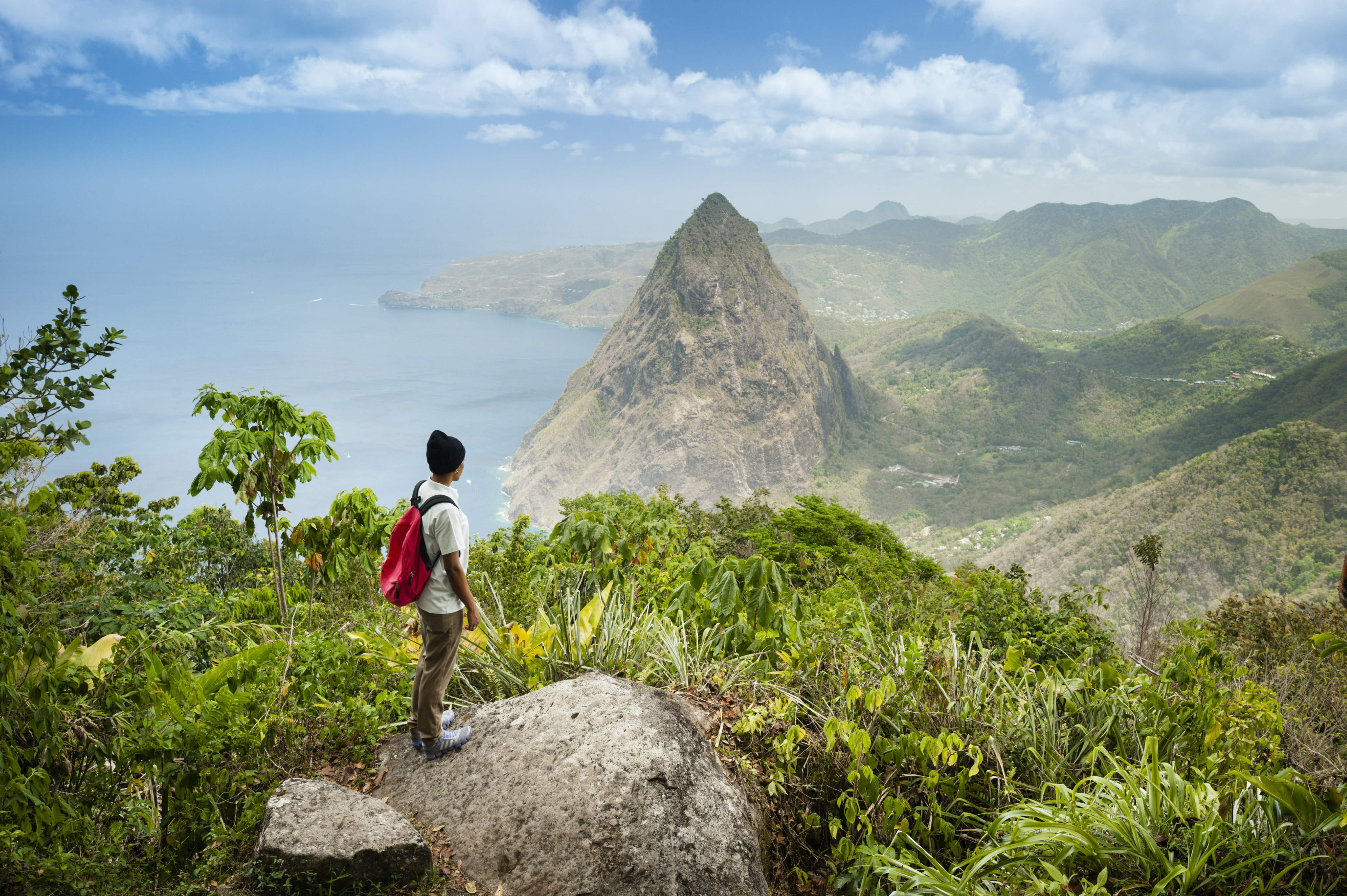 How to get off the beaten track in St Lucia