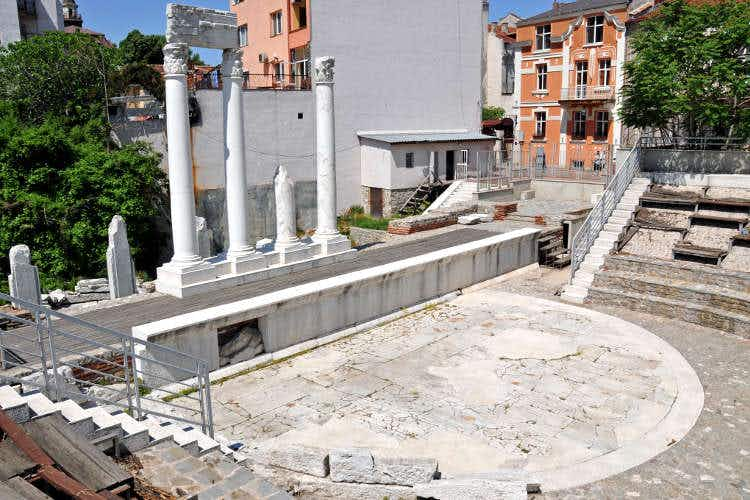 A walking tour of old Plovdiv