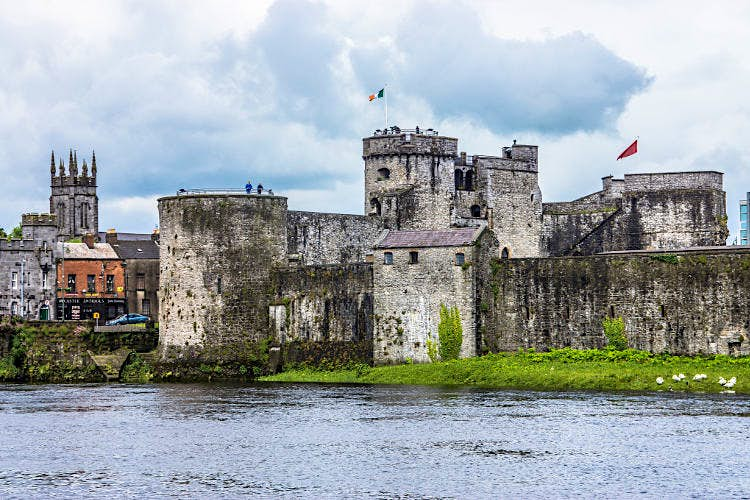 King John's Castle, Limerick. Image by William Murphy / CC BY-SA 2.0