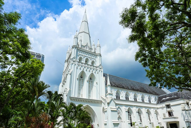St Andrew's Cathedral is Singapore's largest church © SATHIANPONG PHOOKIT / Shutterstock