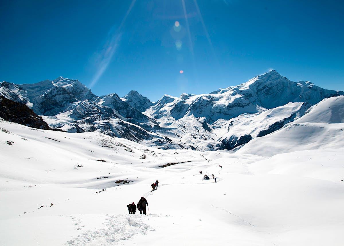 Trekking safely in Nepal