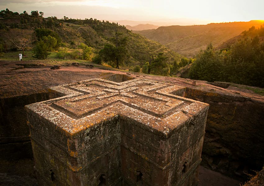 Bet Giyorgis is Lalibela's best preserved church. Image by Philip Lee Harvey / Lonely Planet