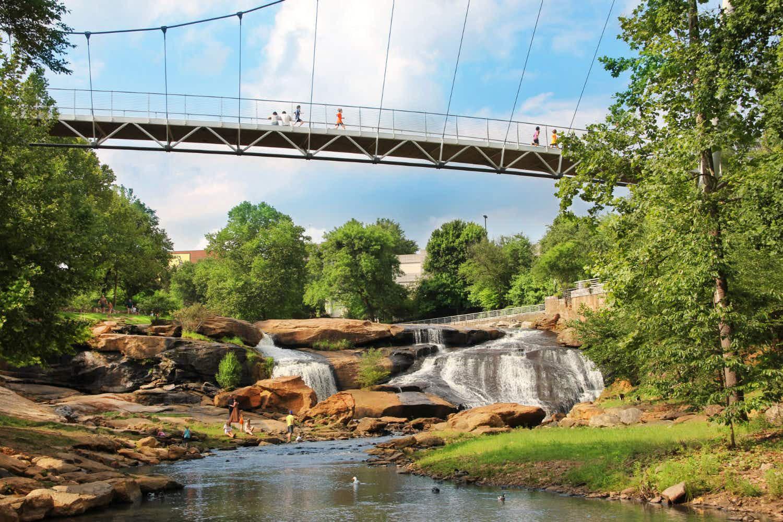 Falling for Greenville: a Blue Ridge Mountain surprise