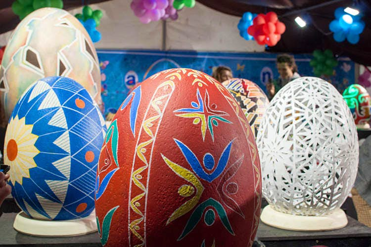 Pysanky (painted eggs) festival in Lviv. Image by Pavlo Boyko / CC BY-SA 2.0