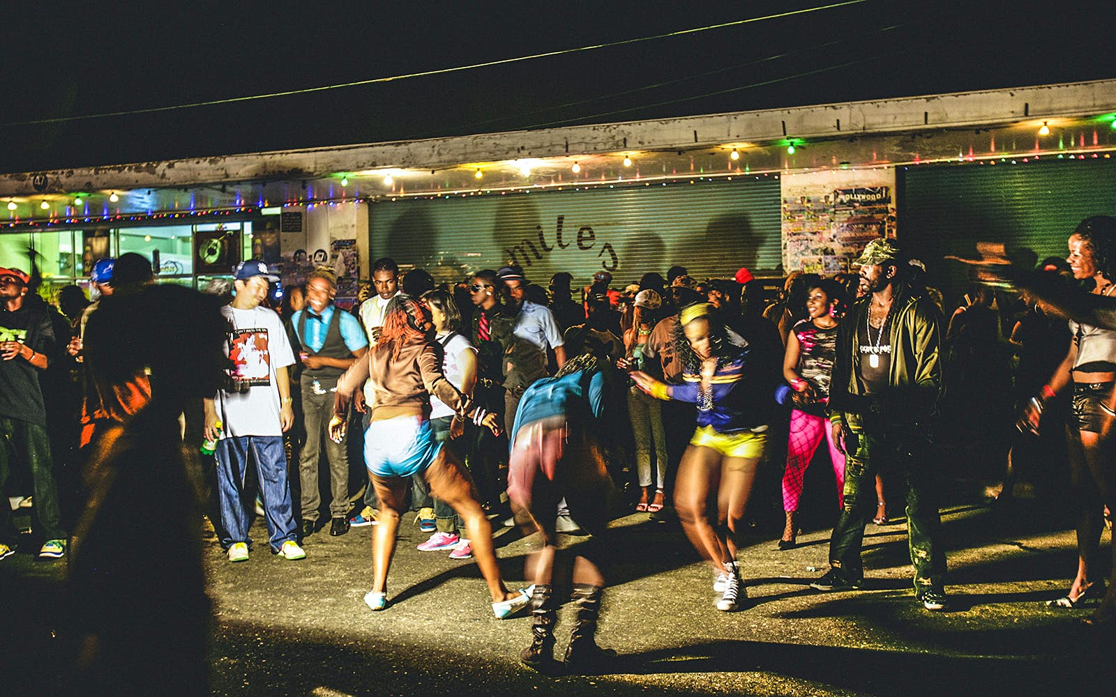 Image result for scenes from a jamaican street dance""