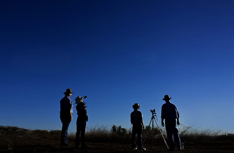 Stargazing experiences in outback New South Wales - Lonely