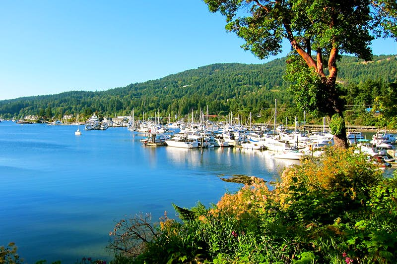 Picture-postcard Salt Spring Island is an idyllic floatplane escape from Vancouver. Image by John Lee / Lonely Planet