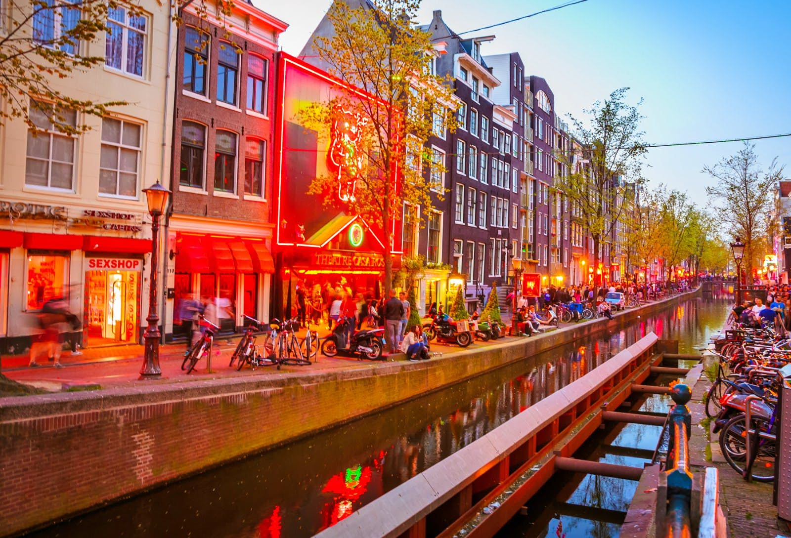 Amsterdam in top brothels Red Light