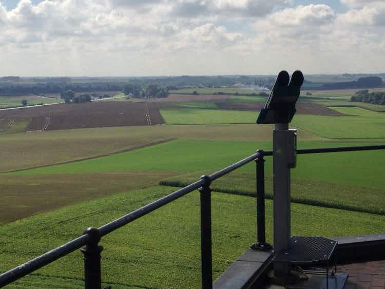 Field of destiny: Waterloo battlefield, Belgium