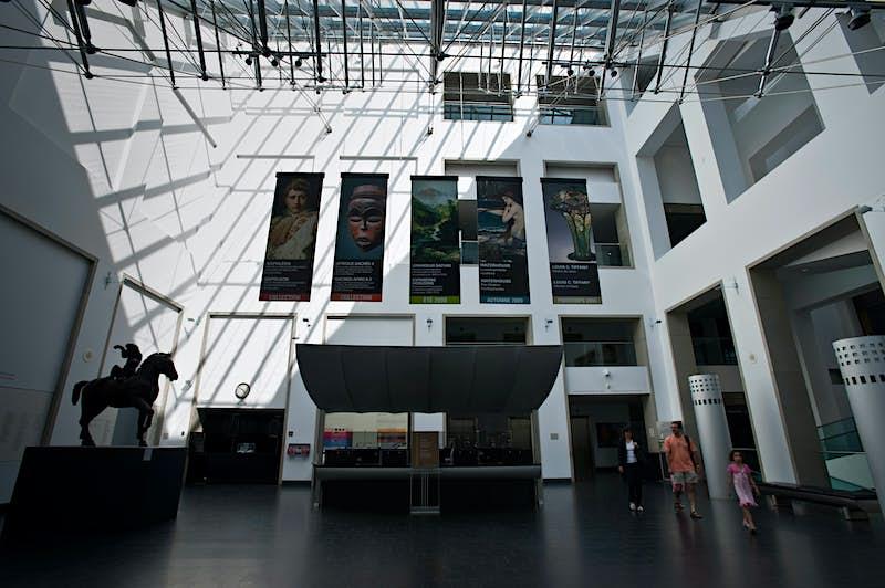 Inside the Musée des Beaux-Arts de Montréal. Image by Guylain Doyle / Getty