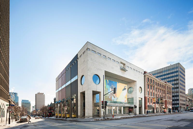 The Montréal Museum of Fine Arts is one of the city's best collections of art spanning decades. Image by Andrew Rowat / Getty