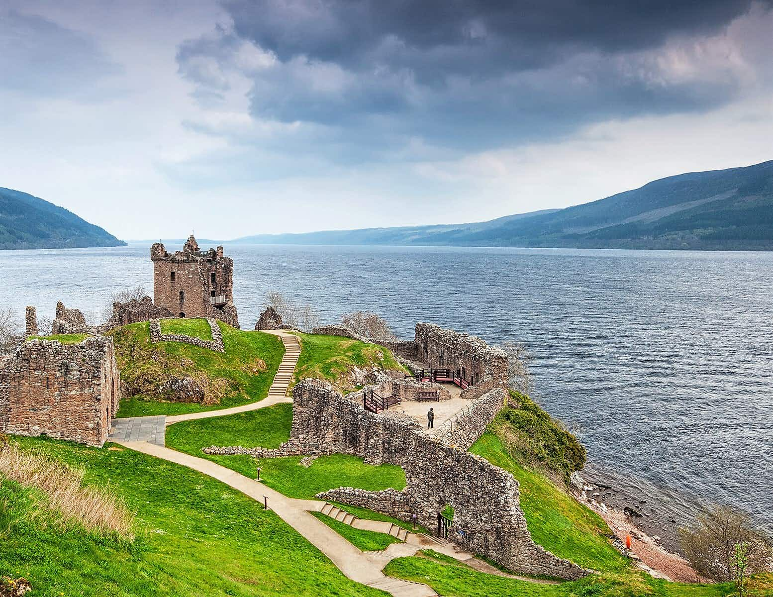 Urquhart Castle has kept an eye out for the Loch Ness Monster since the 13th century © Botond Horvath / Shutterstock
