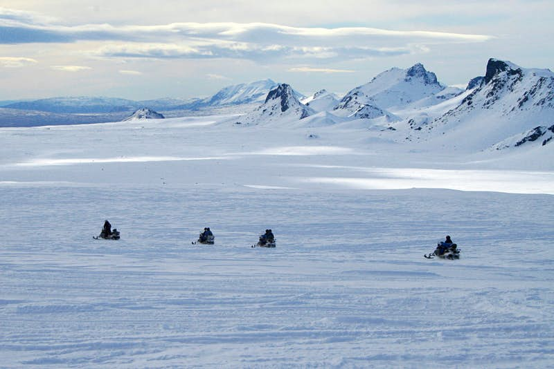 Tours can be a great way to explore Iceland's often-snowbound wilderness. Image by Peter Halling Hilborg / CC BY 2.0