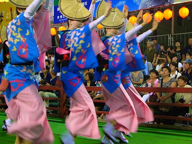 Vũ công Bon-odori; Những điều tốt nhất để làm vào mùa hè ở Nhật Bản