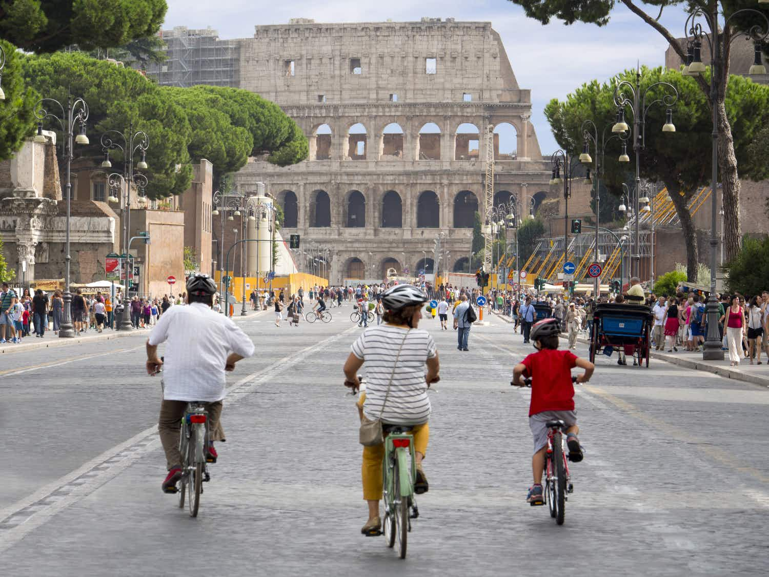 Visiting Rome with kids: gladiators, gardens and gelato