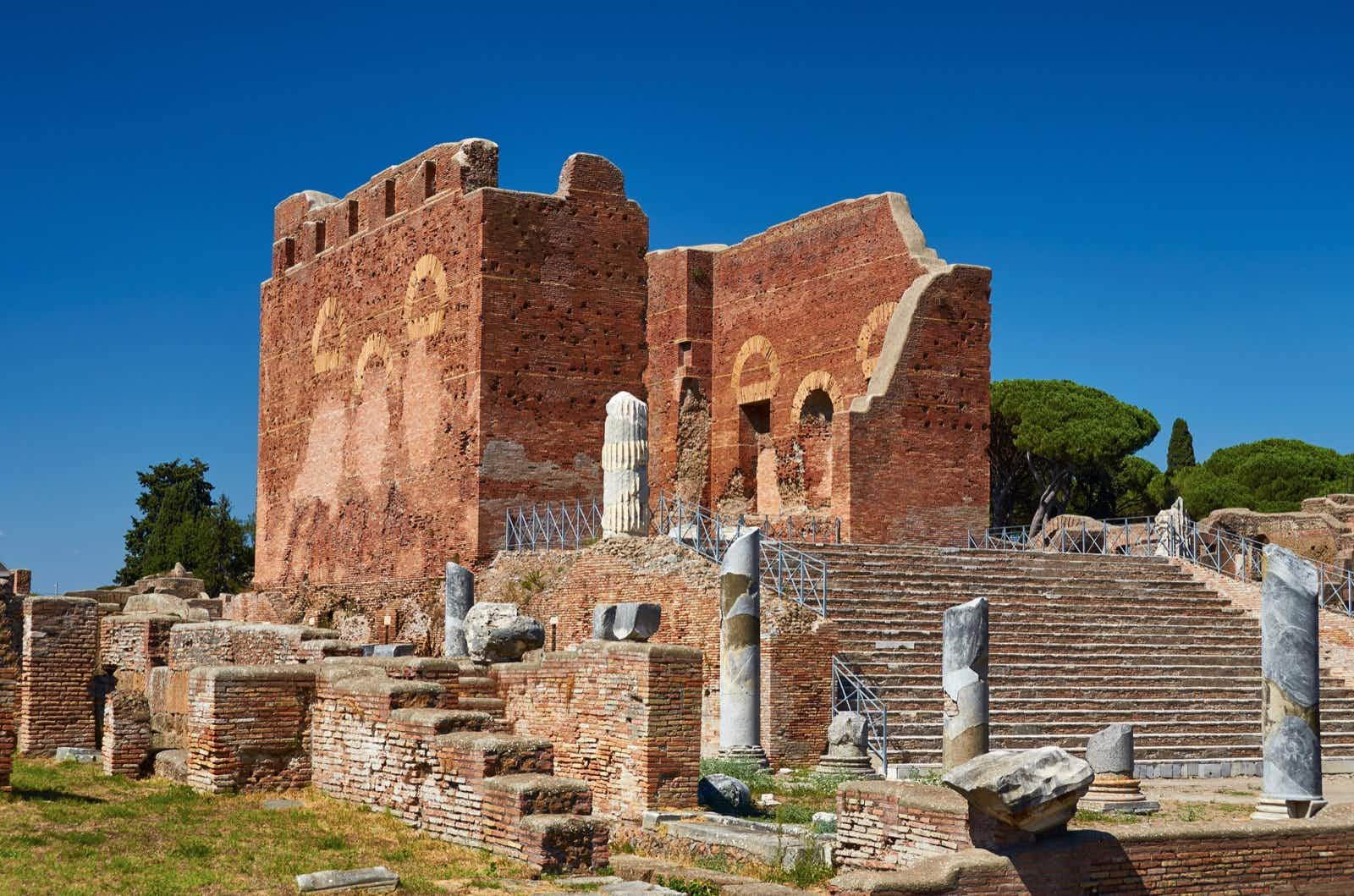 Ostia Antica was once Rome's seaport, but now the ruins lie 2 miles from the sea © Andrew Lightfoot / EyeEm / Getty Images
