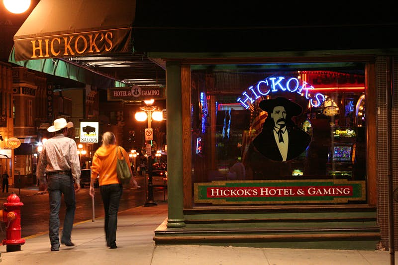 Deadwood was the home of Wild Bill Hickok, among other major Wild West figures. Image by Tribune News Service / Getty
