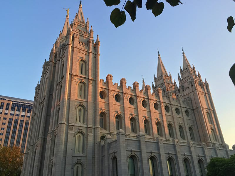 Dedicated in 1893, the Salt Lake Temple took 40 years to complete. Image by Kerry Christiani / Lonely Planet