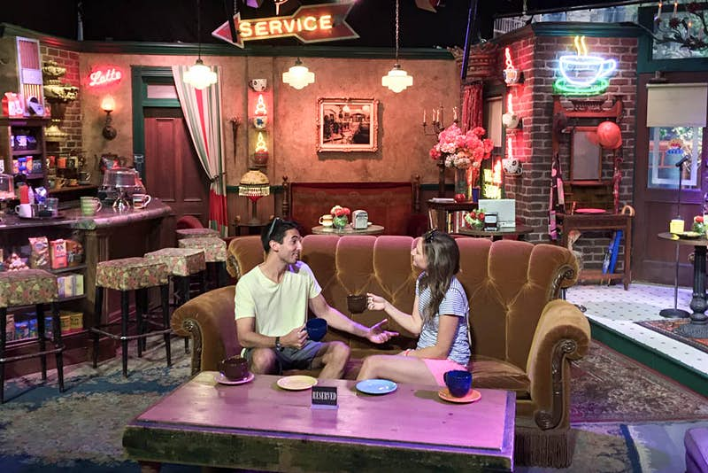 Even though it was set in New York, Friends was filmed in California on one of Warner Bros' lots. © Tim Richards / Lonely Planet