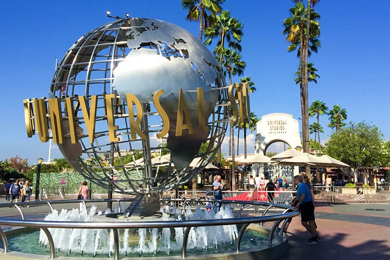 Universal Studios is one of several movie studios that offer tours of their sets. © Tim Richards / Lonely Planet