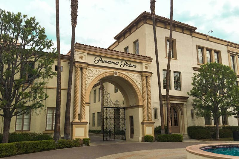 The famous arch of Paramount Pictures is part of a visit to their studios. © Tim Richards / Lonely Planet
