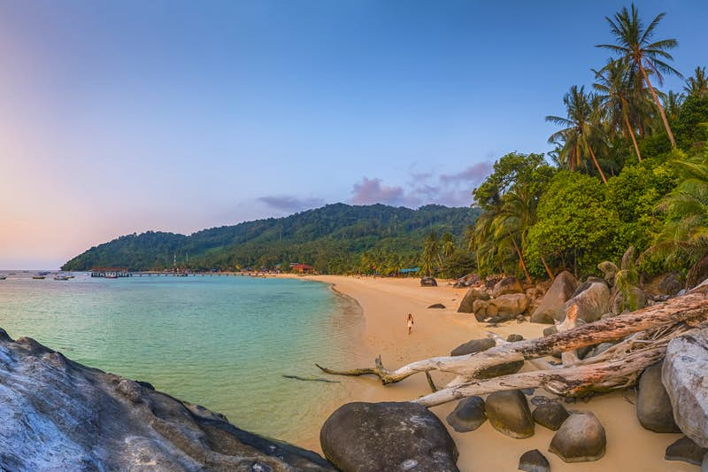 Tioman's Salang Beach is among the island's most beautiful