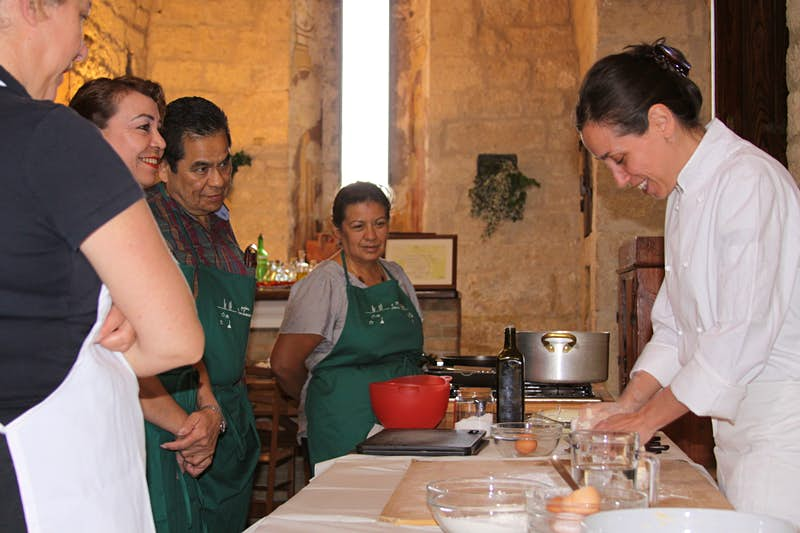 Cooking lesson with Mariana at Podere San Lorenzo