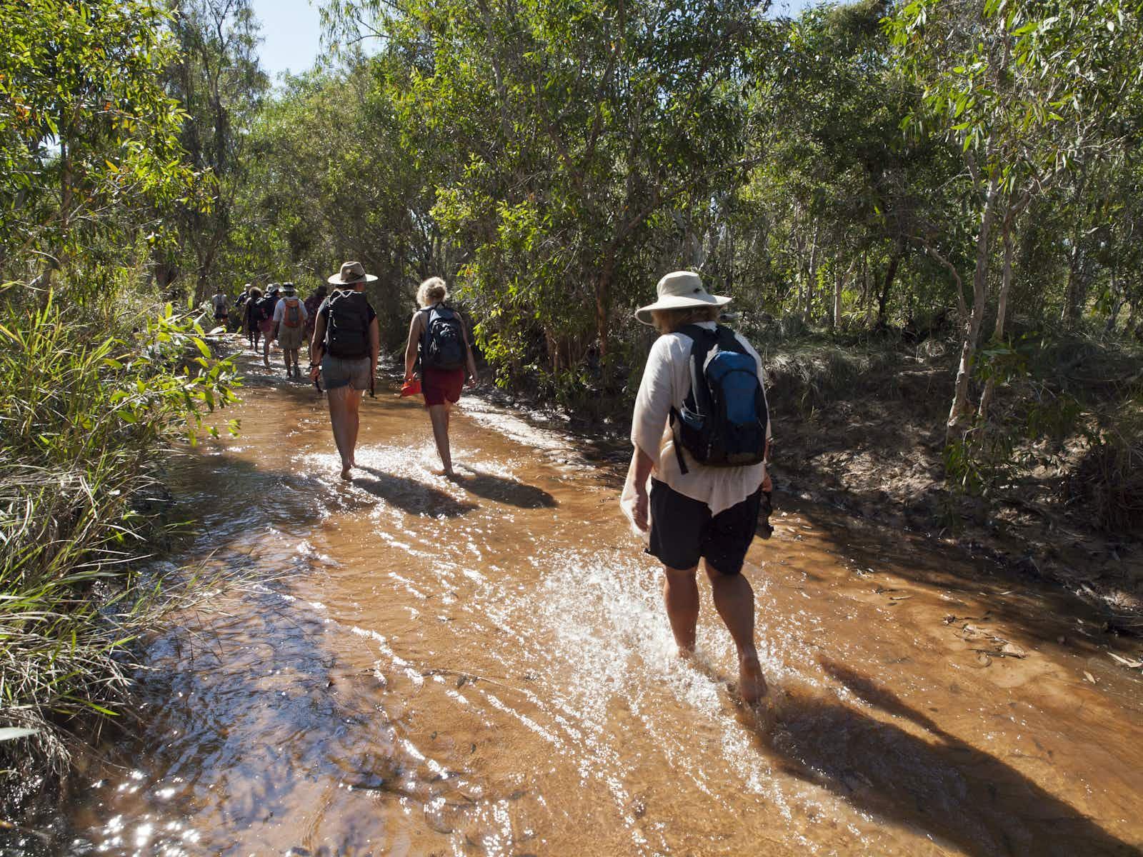 Walking in Western Australia on the Lurujarri Heritage Trail